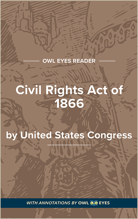 Civil Rights Act of 1866 Cover Image