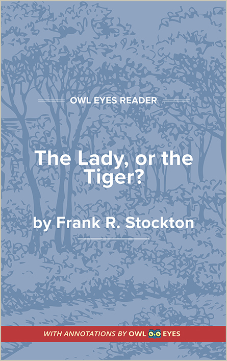 The Lady, or the Tiger? Cover Image