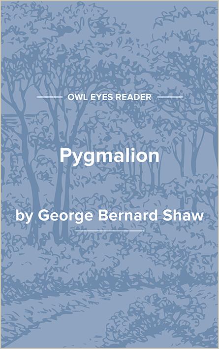 Pygmalion Cover Image