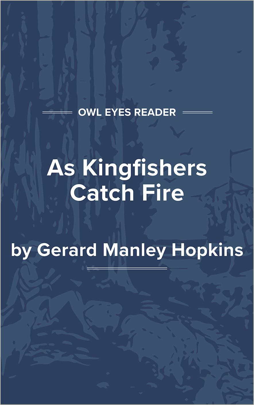 As Kingfishers Catch Fire Cover Image