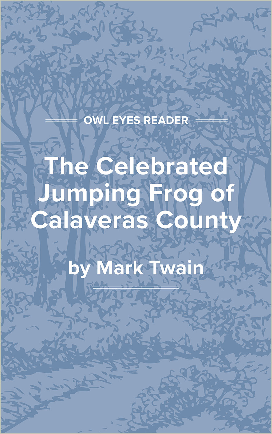 The Celebrated Jumping Frog of Calaveras County Cover Image