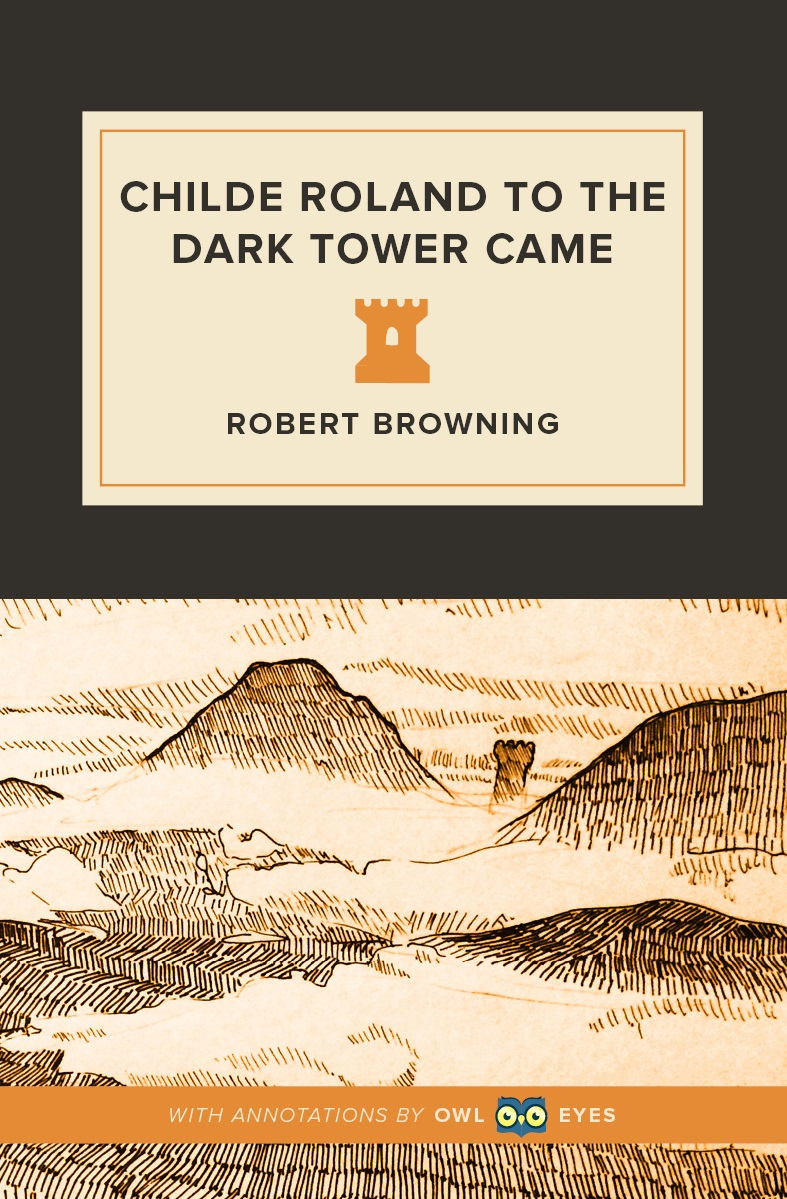 Childe Roland to the Dark Tower Came Cover Image