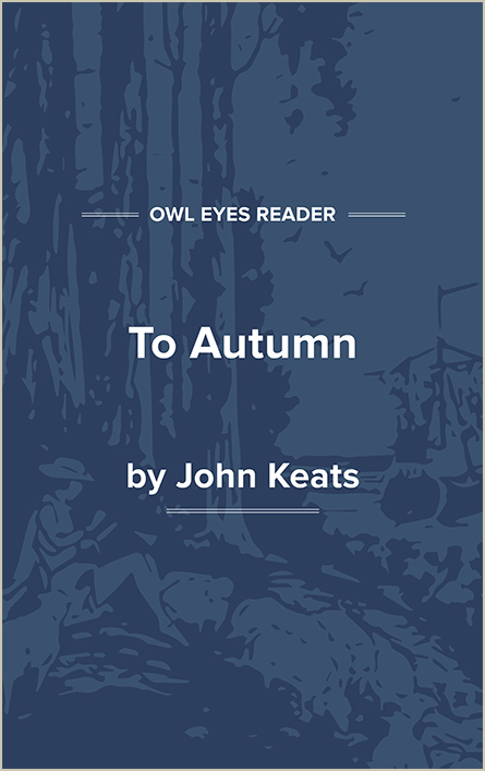 Ode to Autumn Cover Image