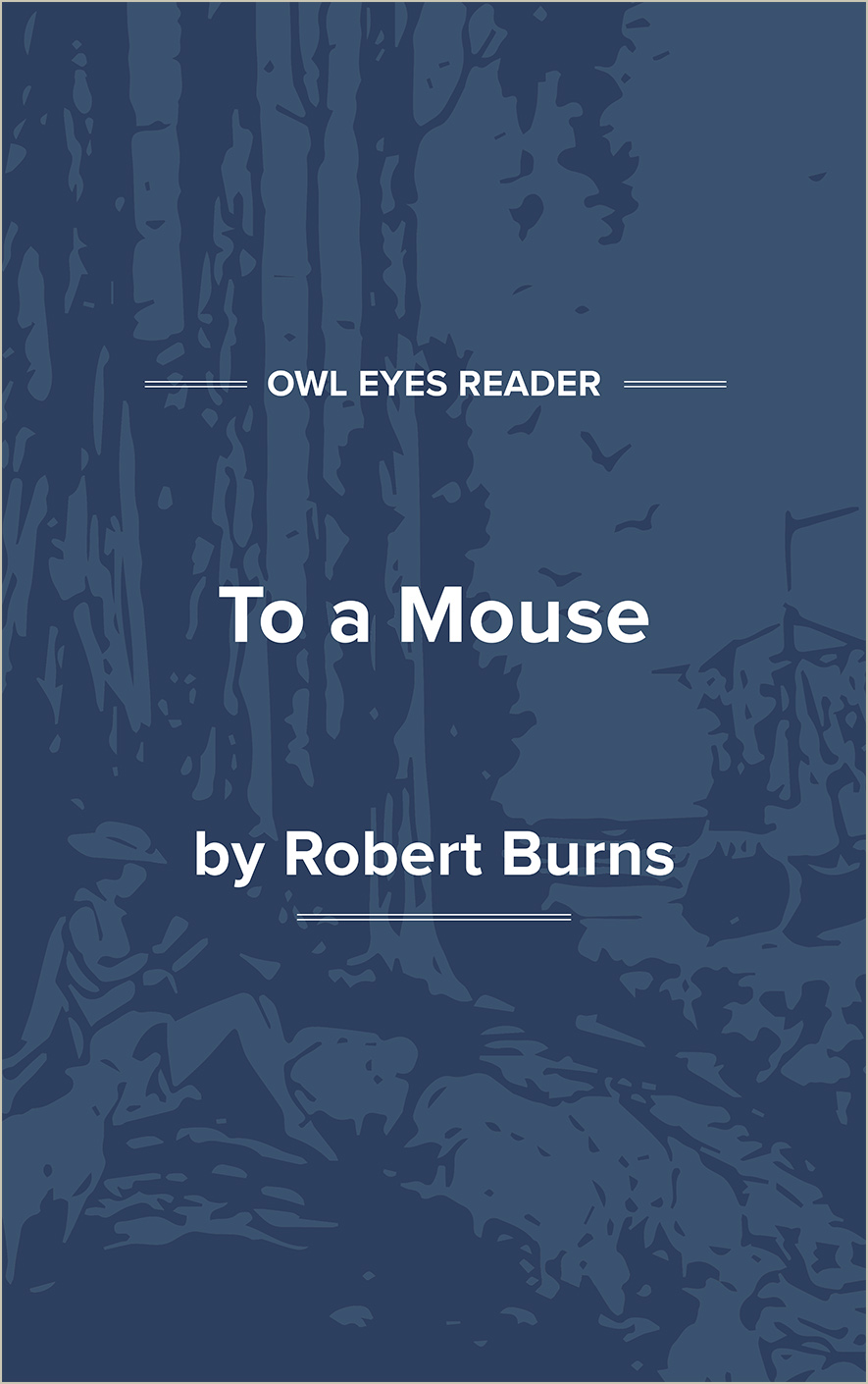 To a Mouse Cover Image