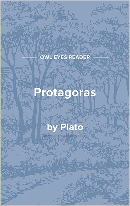 Protagoras Cover Image