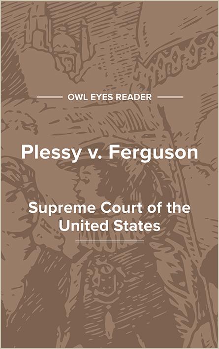 Plessy v. Ferguson Cover Image