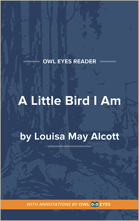 A Little Bird I Am Cover Image