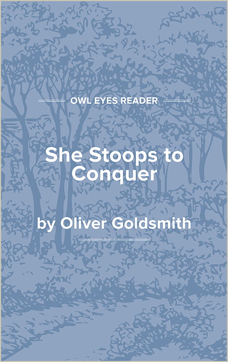 She Stoops to Conquer Cover Image