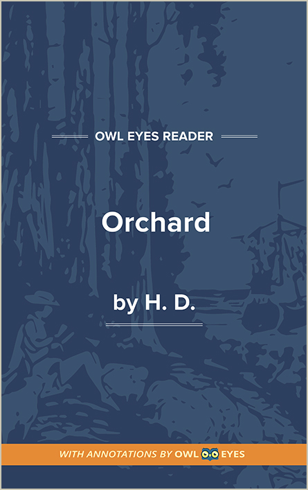 Orchard Cover Image