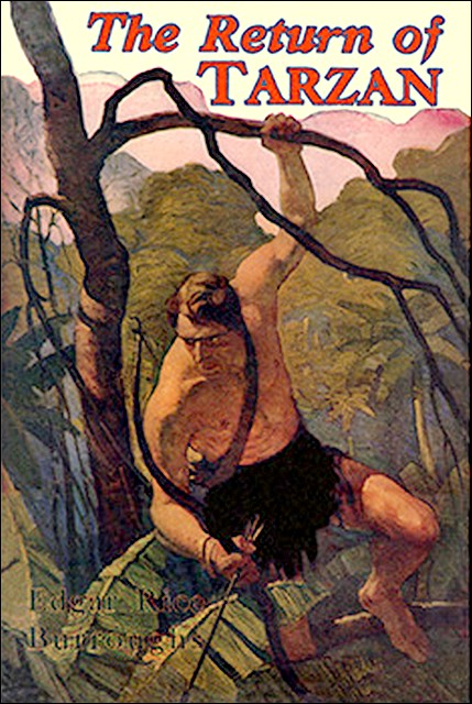 The Return of Tarzan Cover Image
