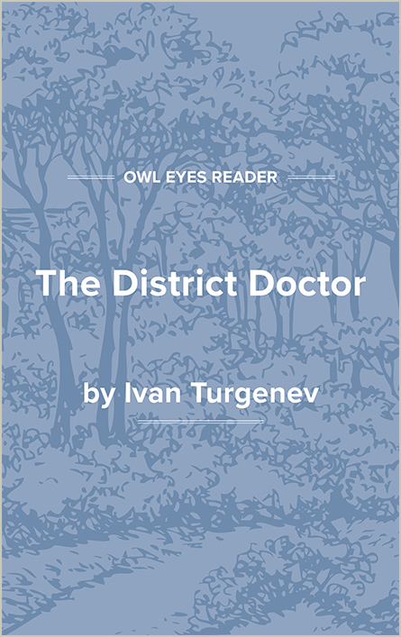 The District Doctor Cover Image