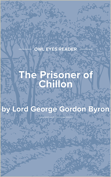 The Prisoner of Chillon Cover Image