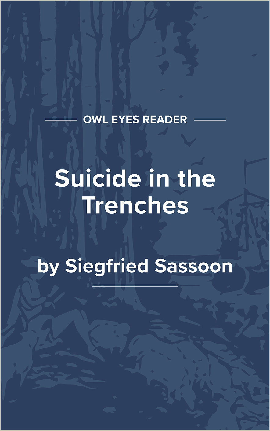 Suicide in the Trenches Cover Image