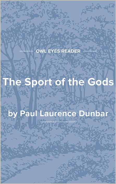 The Sport of the Gods Cover Image