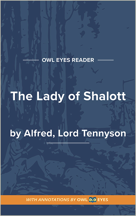 Symbols in The Lady of Shalott - Owl Eyes
