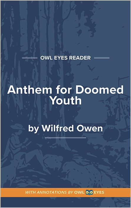 anthem for the doomed youth analysis