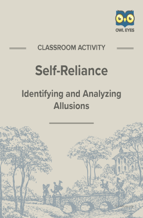 Self-Reliance Allusion Activity