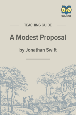 A Modest Proposal Teaching Guide