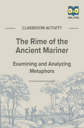 The Rime of the Ancient Mariner Metaphor Activity
