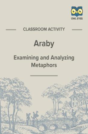 Araby Metaphor Activity