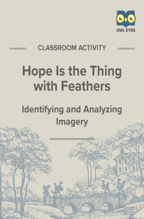 Hope Is the Thing With Feathers Imagery Activity