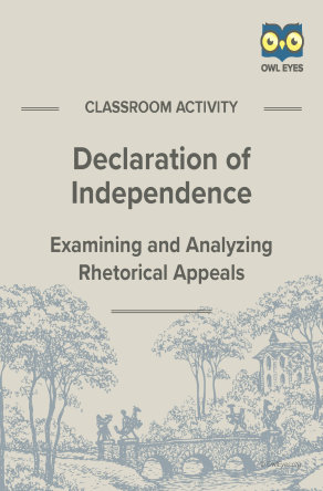 The Declaration of Independence Rhetorical Appeals Activity