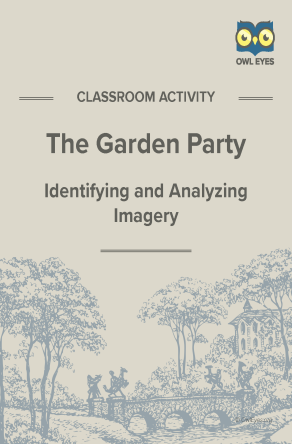 The Garden Party Imagery Activity