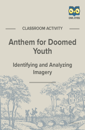 Anthem for Doomed Youth Imagery Activity