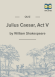 Julius Caesar Act V Quiz page 1