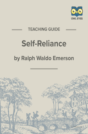 Self-Reliance Teaching Guide
