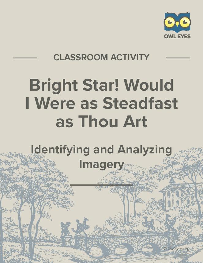 bright star john keats meaning