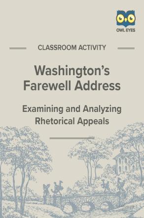 Washington's Farewell Address Rhetorical Appeals Activity