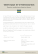 Washington's Farewell Address Rhetorical Appeals Activity page 2