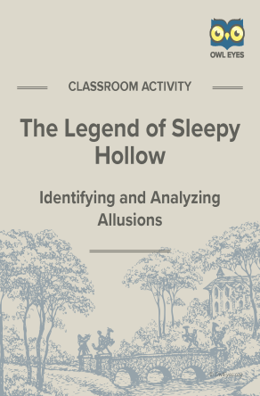 The Legend of Sleepy Hollow Allusion Activity