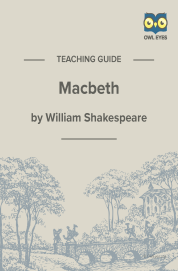 Cover image for Macbeth Teaching Guide
