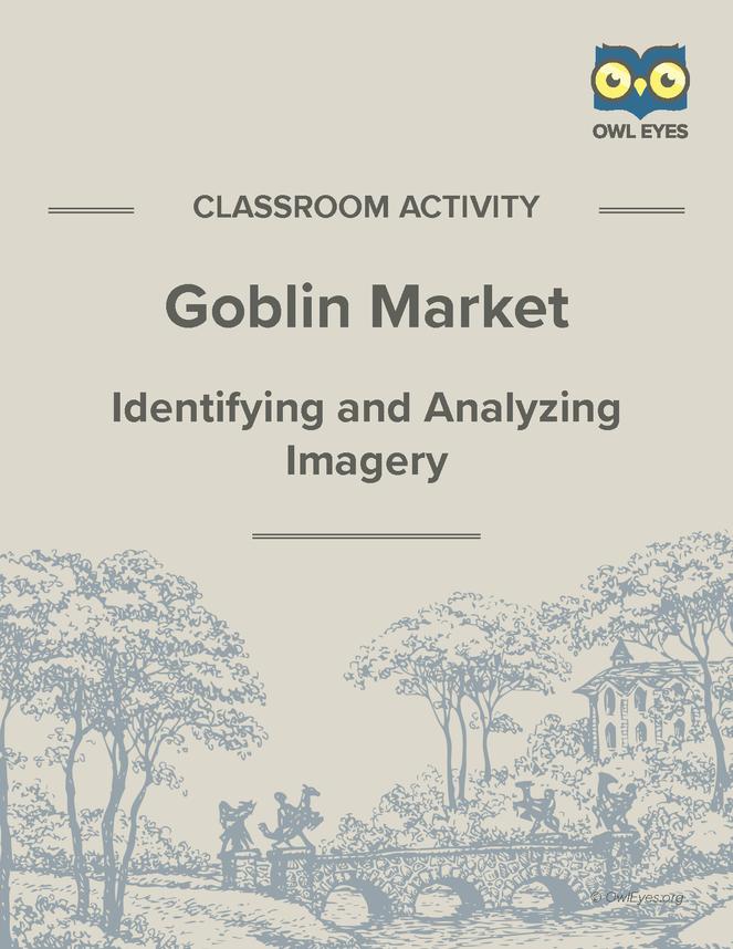 goblin market imagery activity owl eyes