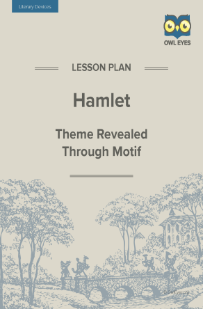 Hamlet Literary Devices Lesson Plan