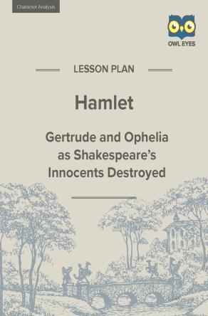 Hamlet Character Analysis Lesson Plan