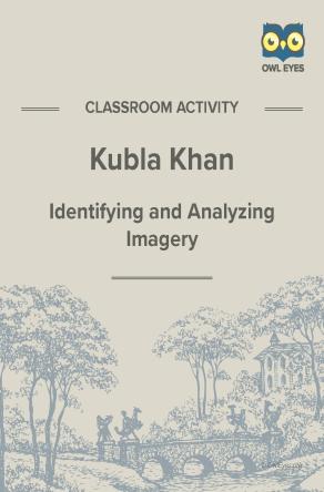 Kubla Khan Imagery Activity