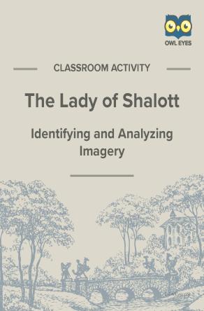 The Lady of Shalott Imagery Worksheet