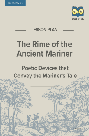 The Rime of the Ancient Mariner Literary Devices Lesson Plan