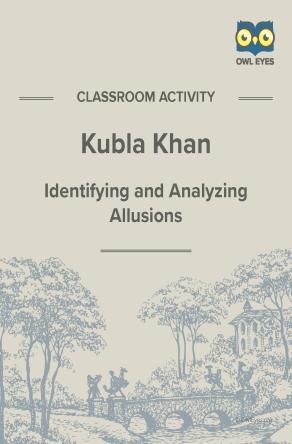 Kubla Khan Allusion Activity