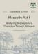 Macbeth Act I Dialogue Analysis Activity Worksheet page 1