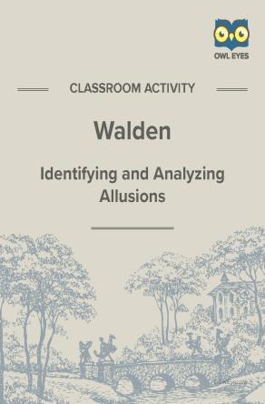Walden Allusion Activity