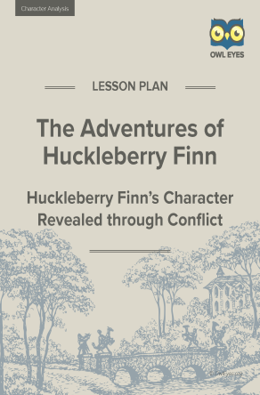 Huckleberry Finn Character Analysis Lesson Plan