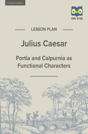 Julius Caesar Character Analysis Lesson Plan